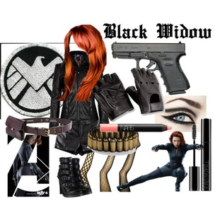 How to make a marvel black widow costume - photo#3